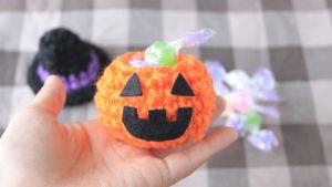 作り方動画 かぼちゃ/減らし目についても解説 http://youtu.be/Yxvud4W9JVE