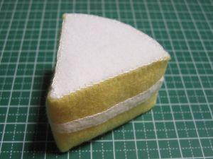 形を整えて、残りの面を縫う。 これでベースが完成!